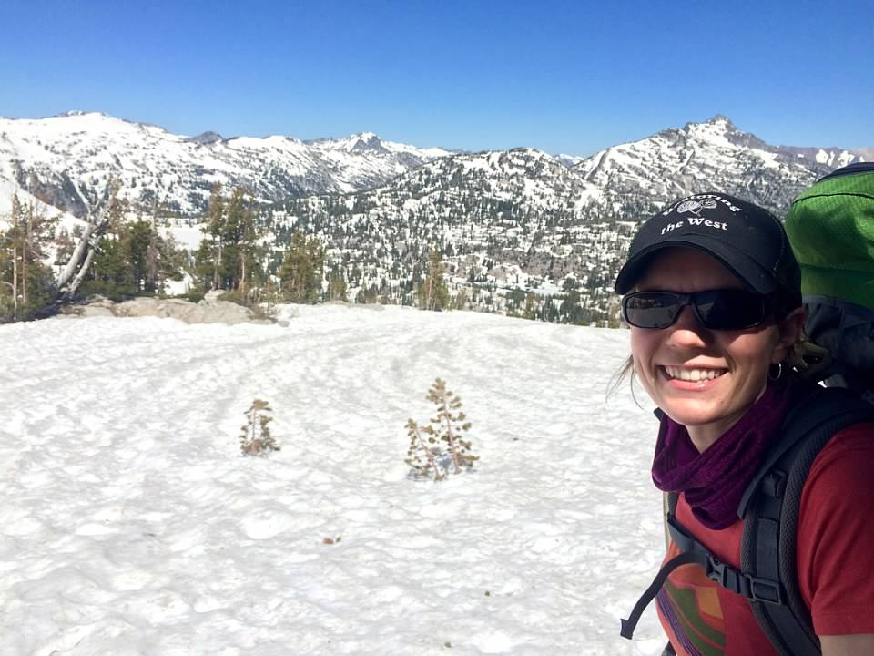 Jess Winans in Eagle Cap Wilderness
