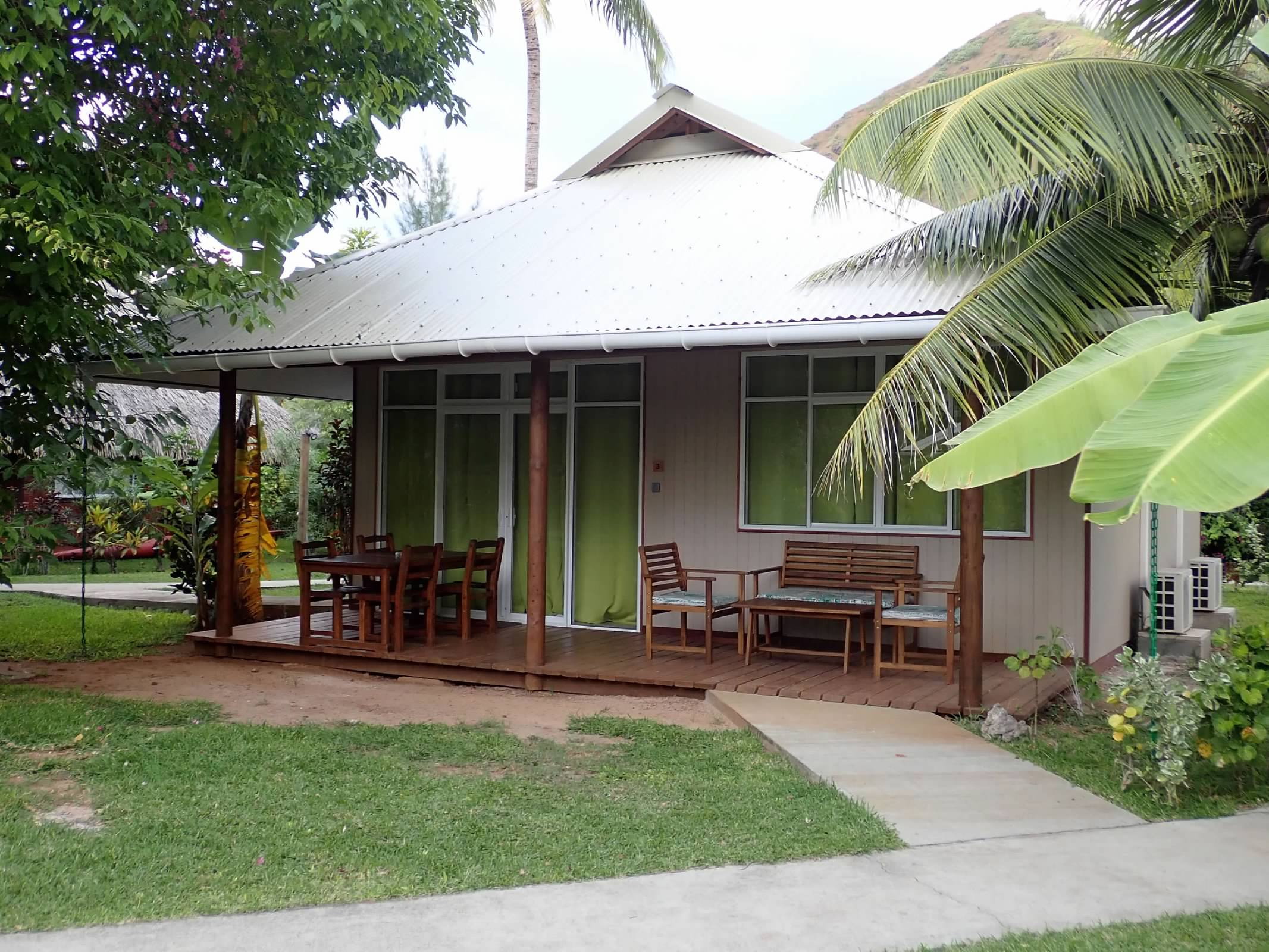Our Bungalow Also Had A Full Sized Kitchen With Stove, Refrigerator