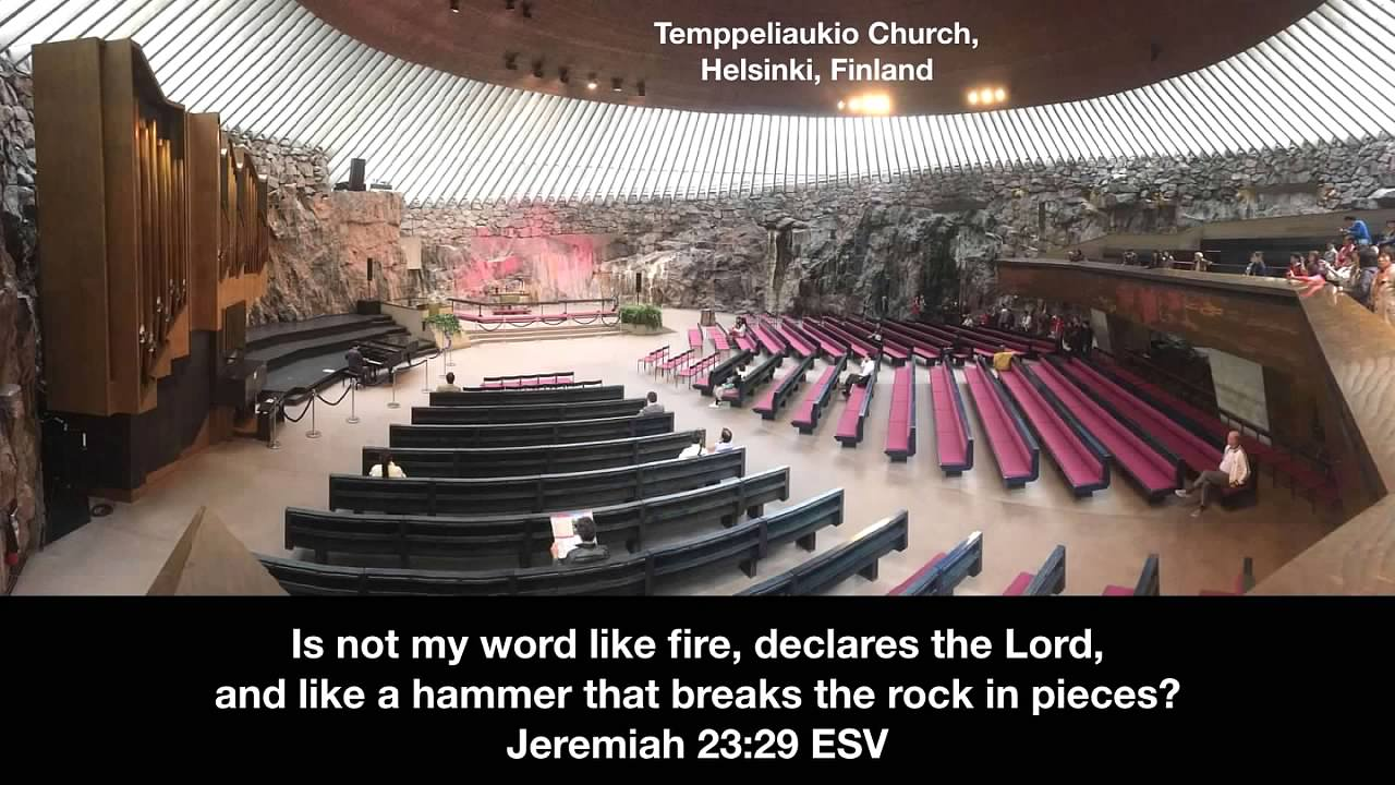 Rich & Joyce Swingle: The Word Is a Fire and a Hammer