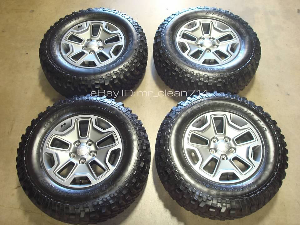 Details About 17 2017 Jeep Wrangler Rubicon Wheels Tires Oem Rims Factory Sport Unlimited