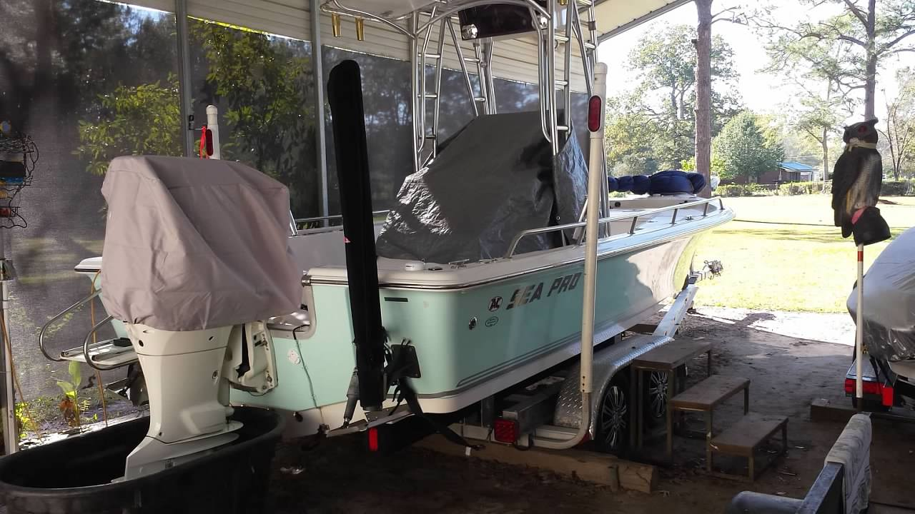 Mount power pole | Sea Pro Boat Owners Forum