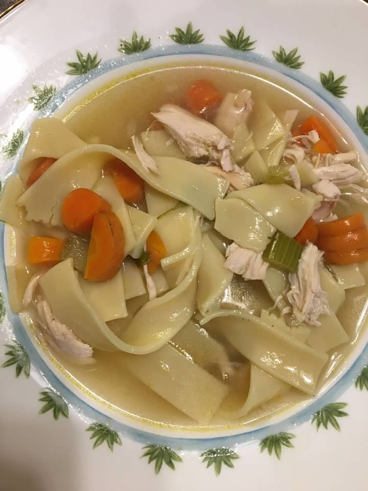 Cool Comforting Chicken Noodle Soup Download Free Architecture Designs Jebrpmadebymaigaardcom