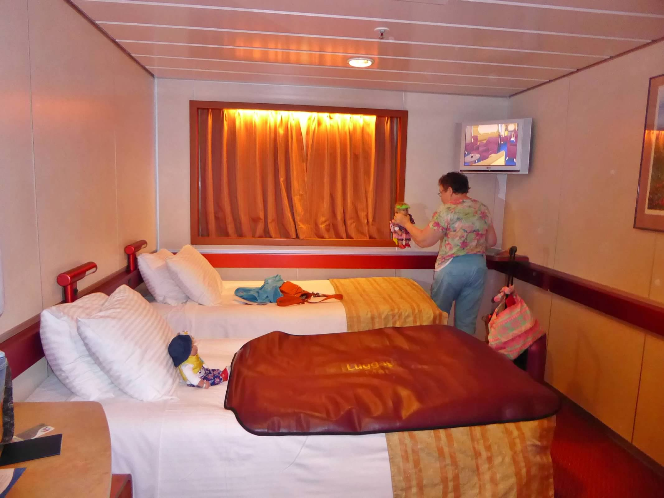 Trundle Bed For Inside Cabin On Elation Carnival Cruise Lines