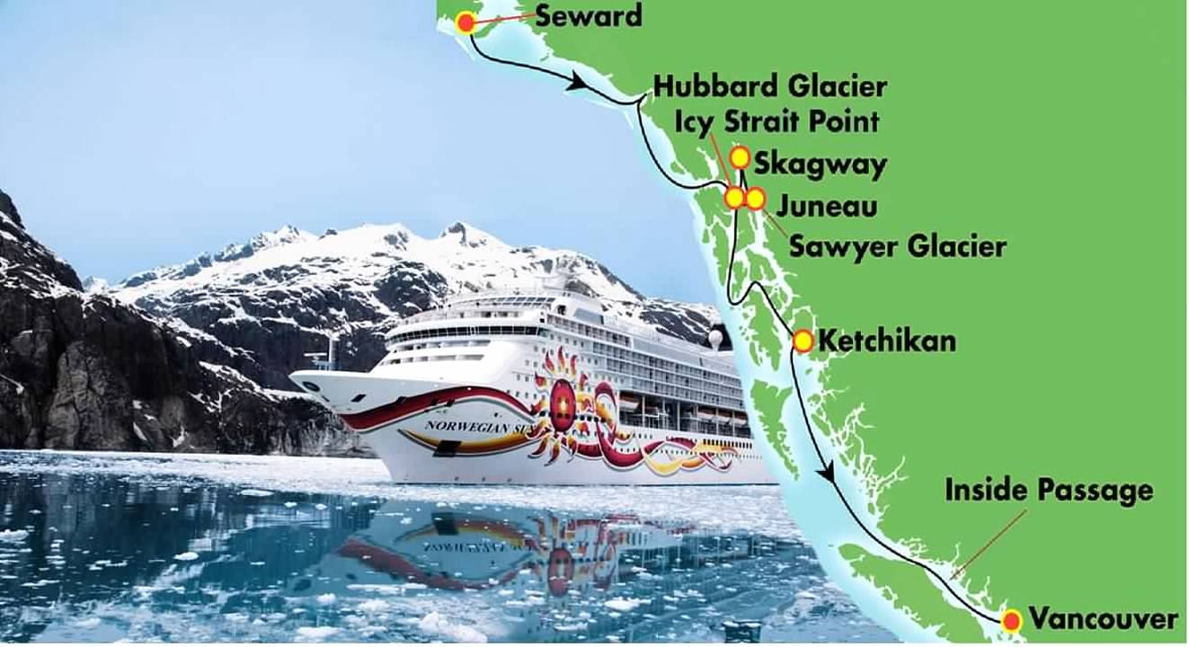 Alaska Southbound On The Ncl Sun August 2017 Trip Report