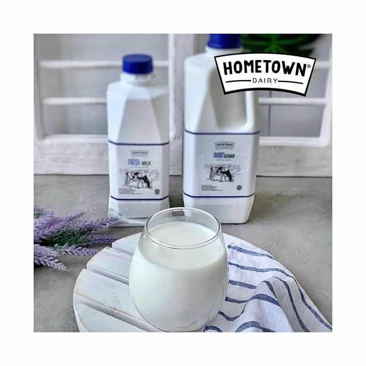 Susu Hometown foto by Hometown dairy milk