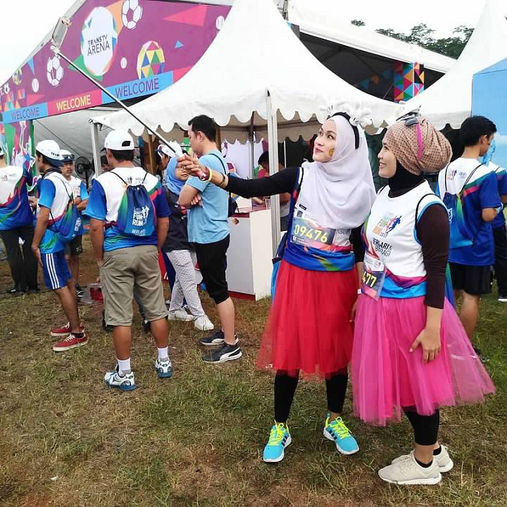 Kostum Para Pelari CT ARSA FOUNDATION Charity Fun Run