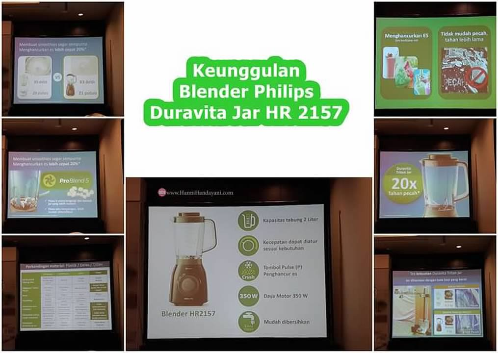 Keunggulan philips duravita tritan jar hr 2157
