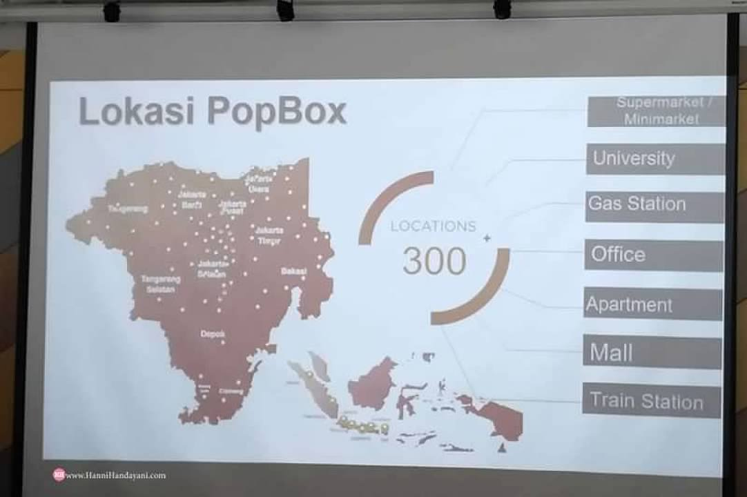 Lokasi POP BOX di Indonesia