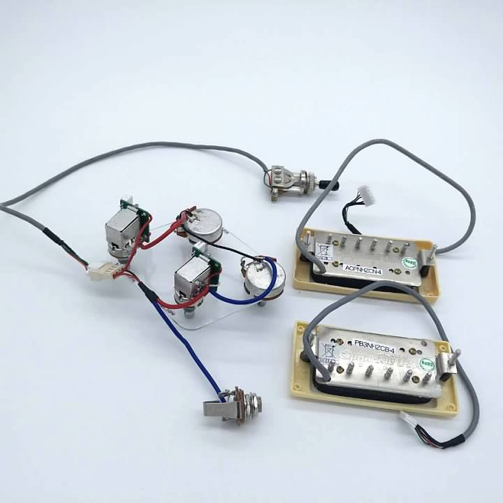 Quick Connect Wiring Harness Gibson Les Paul. . Wiring Diagram on