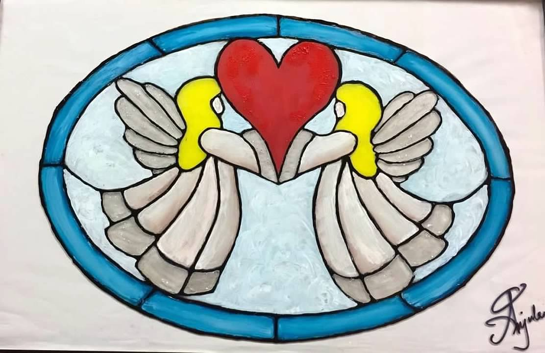 Stain Glass Angels