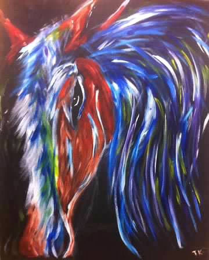 Colorful Horse 2