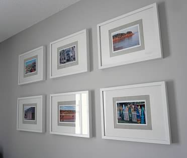 small guest room Ribba frame